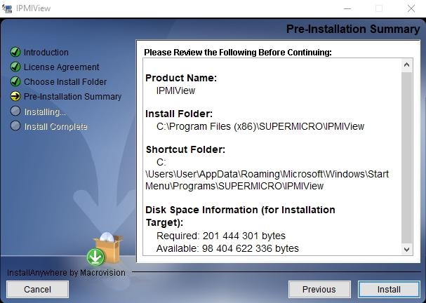 Server data access via IPMIView20 program - Knowledgebase